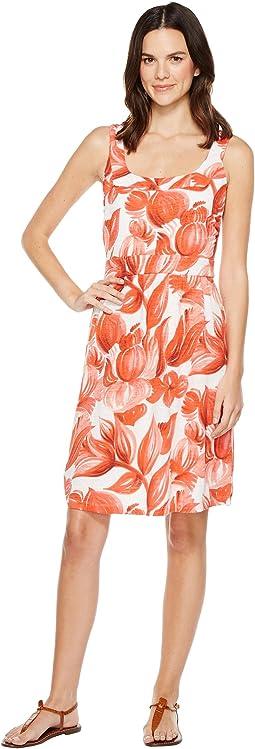 Painterly Petals Short Dress