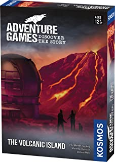 Thames & Kosmos | 695133 | Adventure Game: The Volcanic Island | Discover The Story | Cooperative Board Game | 1-4 Players...