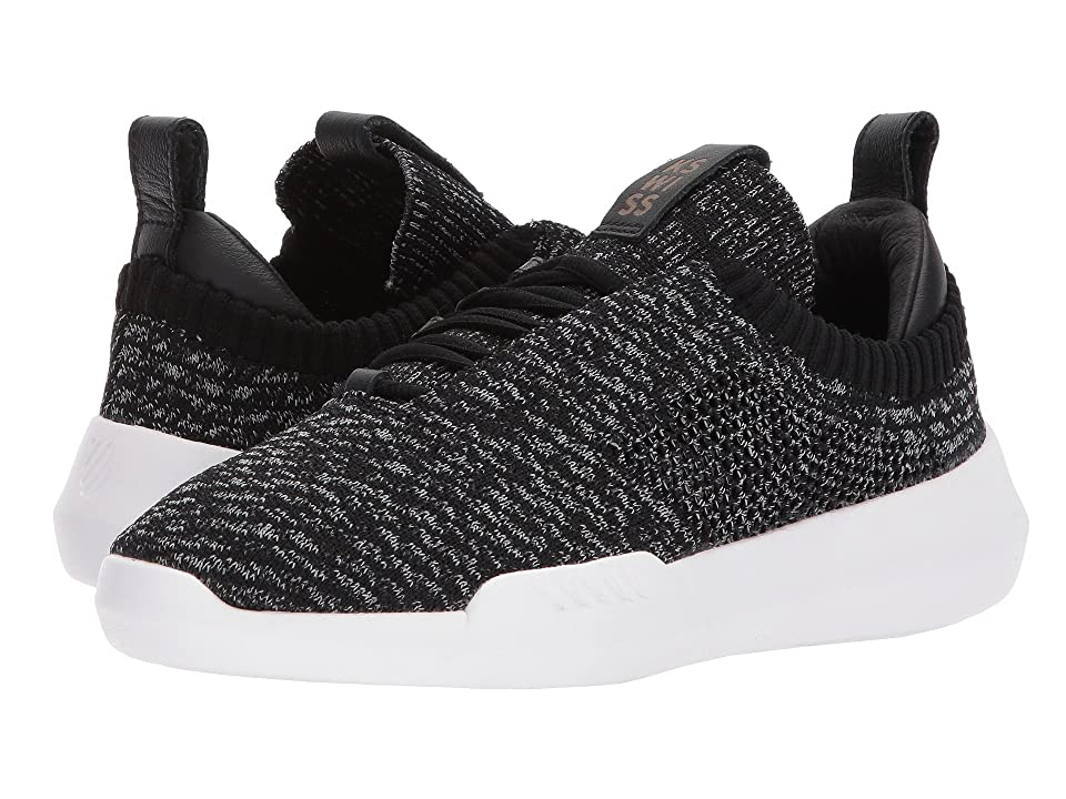 K-Swiss Gen-K Icon Knit (Black/Gray Heather) Women