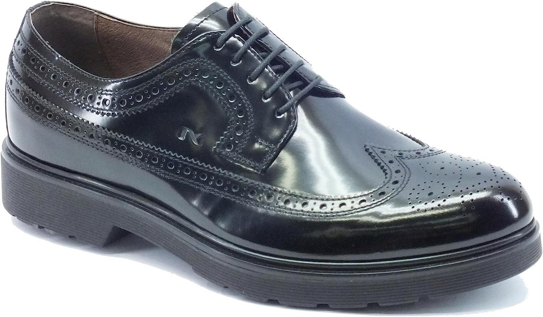 svart Giardini Giardini Giardini Laced skor i svart läder A60493U   100  fri leverans