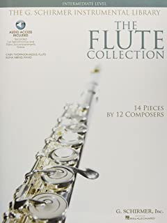 The Flute Collection - Intermediate Level: Schirmer Instrumental Library for Flute & Piano (The Schirmer Instrumental Library)