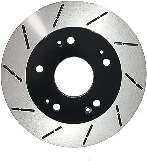[Rear Slott Brake Rotors Ceramic Pad] Fit 14-16 Hyundai Genesis Coupe 3.8T Base