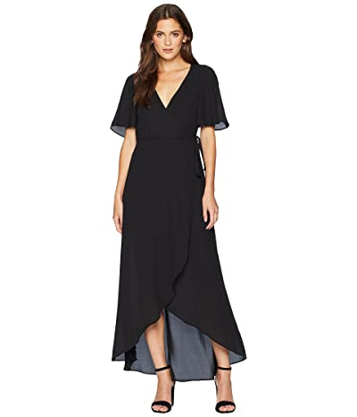 Show Me Your Mumu Marianne Wrap Dress (Black) Women