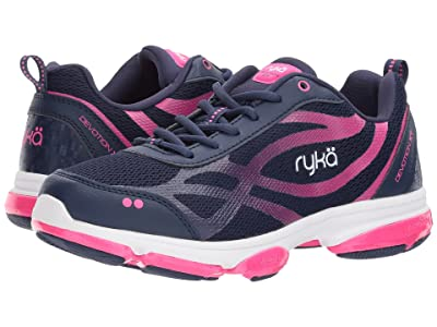 Ryka Devotion XT (Medieval Blue/Athena Pink/White) Women