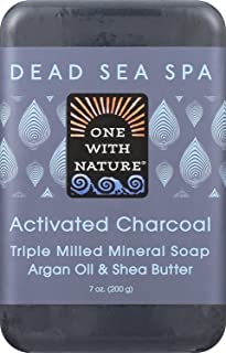 One Nature Bar Soap,Activat Charcoa 7 Oz (Pack of 6)