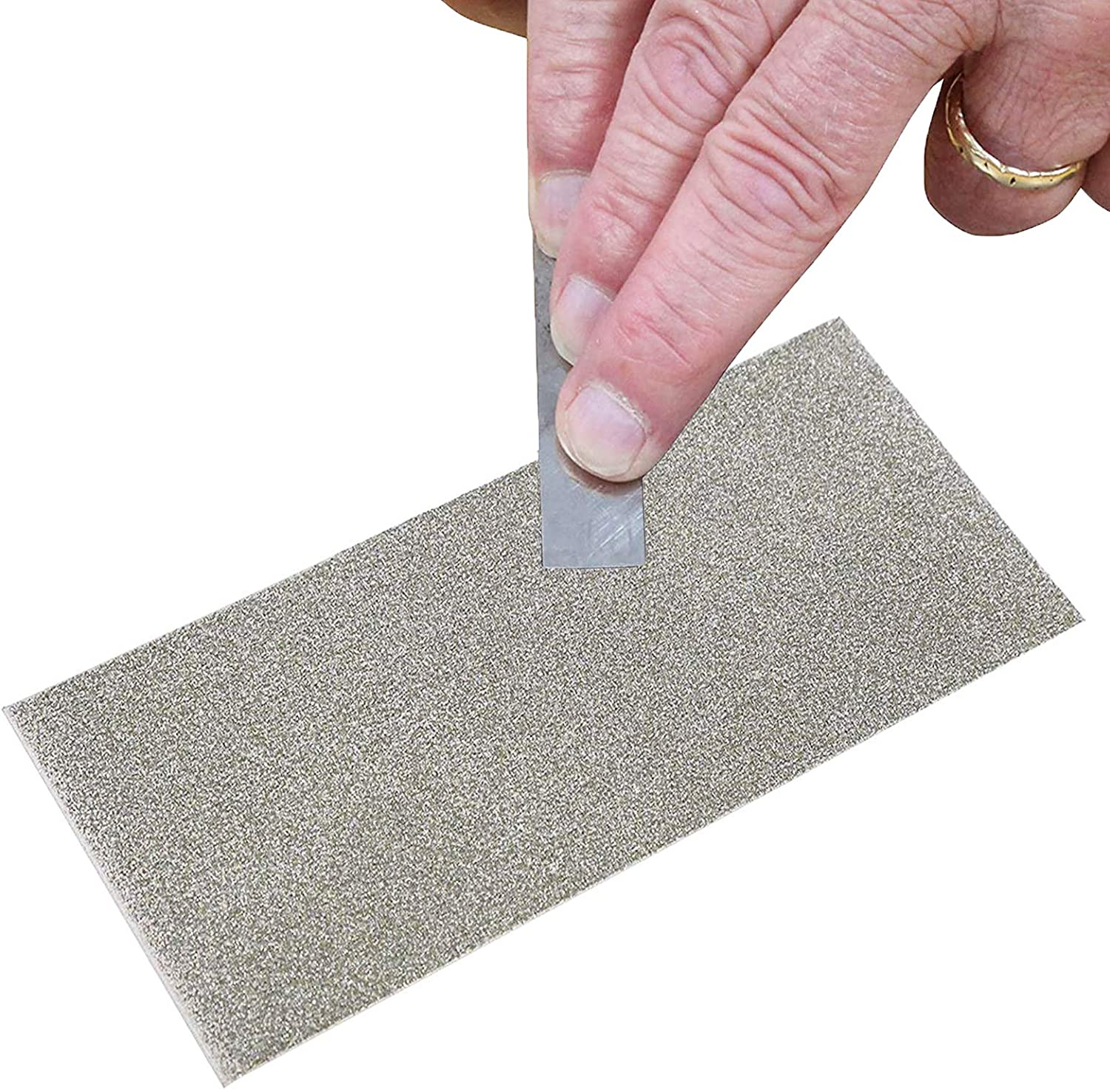 Jewboer Thin Diamond Knife Tool Plate Square Fixed price for sale Wh Stone Sharpening Raleigh Mall