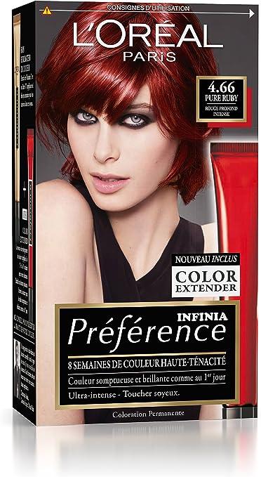 Préférence LOréal Paris - Coloración permanente, rojo ...