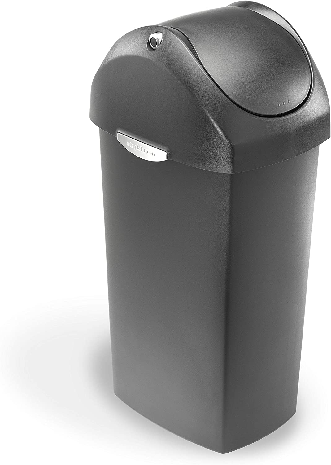 simplehuman 60 Liter 16 Clearance SALE Limited time Gallon Swing Plast Grey National uniform free shipping Trash Can Lid
