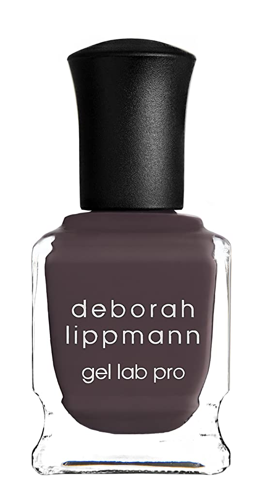 カップ重量かんたん[Deborah Lippmann] デボラリップマン ジェルラボプロ ラブハングオーバー(カラー:グレー ダーク パープル LOVE HANGOVER ジェルポリッシュ 色:ダークパープル ネイルカラー系統:パープル(紫)15mL