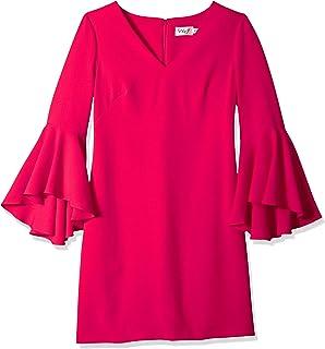 فستان كارشما كابور بتصميم ياقة سبعة وأكمام واسعة للنساء