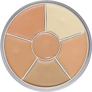 kryolan concealer wheel 6
