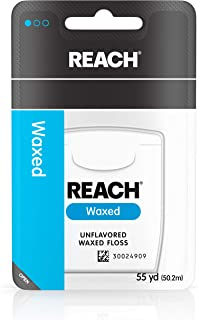 Sponsored Ad - Reach Unflavored Waxed Dental Floss for Oral Care & Removal of Plaque & Food From Teeth & Gum Line, Accepte...