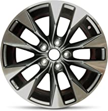 Road Ready Car Wheel For 2015 Nissan Sentra Full Size Spare 17 Inch 5 Lug Aluminum Rim Fits R17 Tire - Exact OEM Replacement - Full-Size Spare