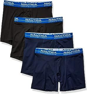 Nautica Men's Competition 4 Pack Boxer Brief