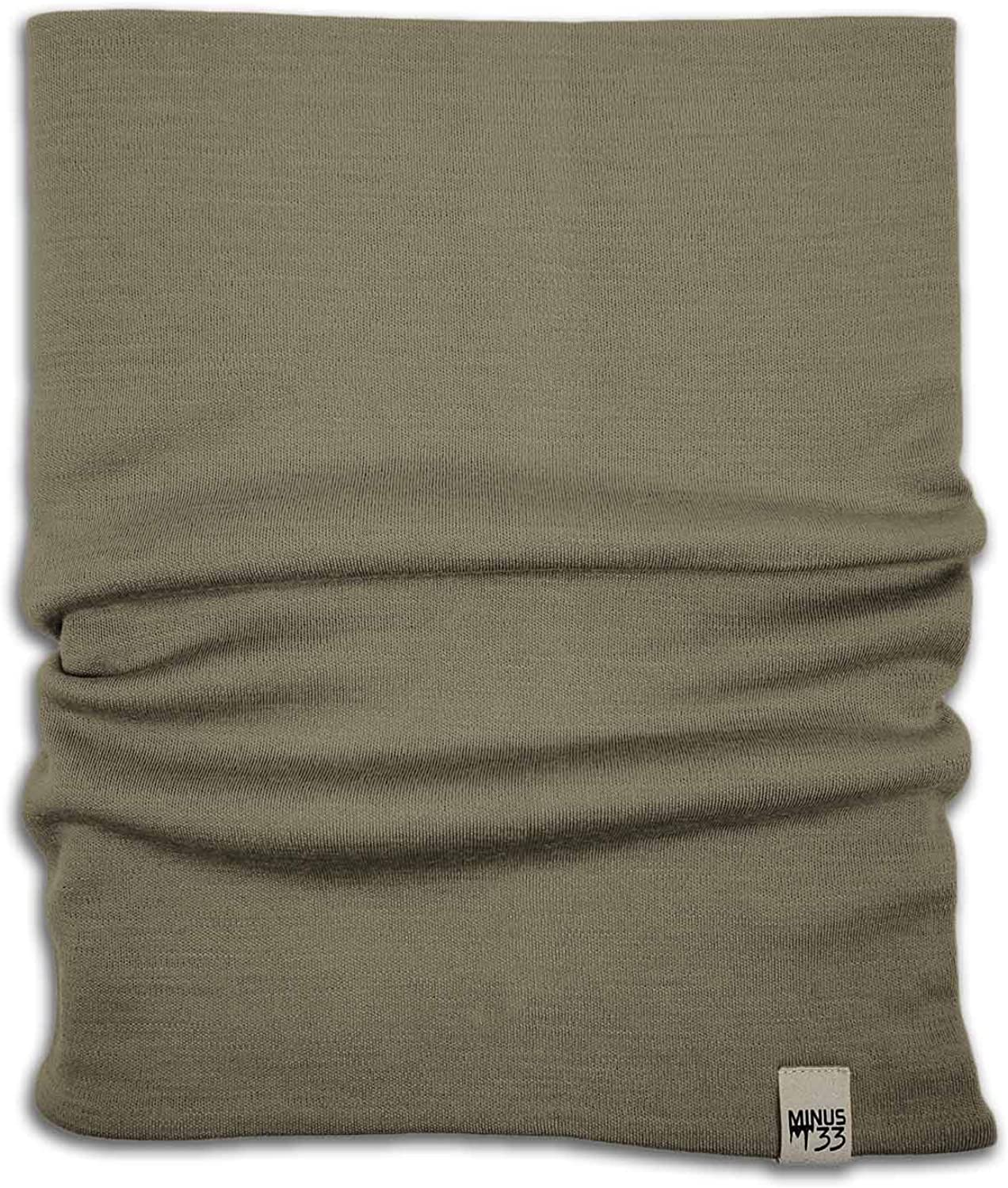 Minus33 Special Campaign Merino Wool 730 Midweight Neck Gaiter One Size online shop Tan 499