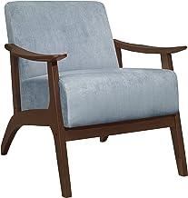 كرسي غرفة معيشة من ليكسكون سافري ، أزرق رمادي
