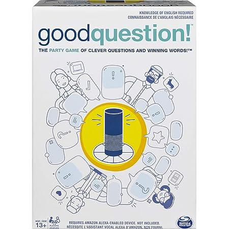 Spin Master Games Good Pregunta Divertido Juego De Fiesta De Preguntas Y Respuestas Para Adolescentes Y Adultos Amazon Com Mx Juegos Y Juguetes