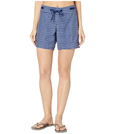 Prana Silvana Boardshort (Blue Anchor Stripe) Women