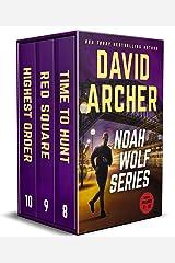 Noah Wolf Series: Books 8-10 (Noah Wolf Boxed Set Book 3) Kindle Edition