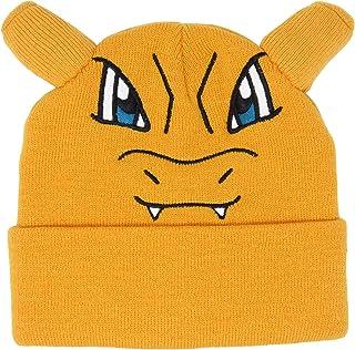 Bioworld Pokemon Charizard Embroidered Beanie Cap Hat One Size Licensed New Orange