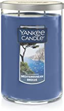 Yankee Candle Large 2-Wick Tumbler Candle, Mediterranean Breeze