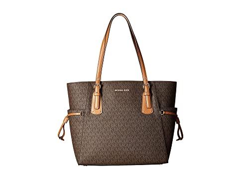 ce0f10f0d3e3 MICHAEL Michael Kors Voyager East West Signature Tote at Zappos.com