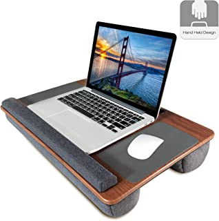 Lap Desk, Kavalan Laptop Desk with Mouse & Wrist Pad, Right & Left Handed Design, Fit up to 17.3 inch Laptop, MacBook, Tablet