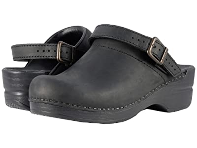Dansko Ingrid (Black Oiled) Women