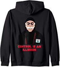 Tee Mr Mask Robot Control Is An Illusion Fuck E Corp Hacked Zip Hoodie