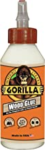 Gorilla Wood Glue, 8 ounce Bottle, (Pack of 1)