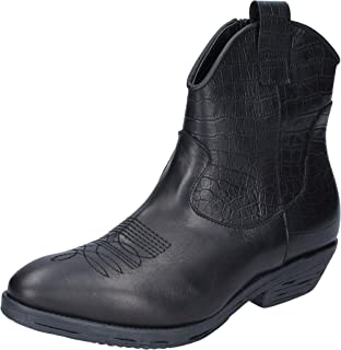 IMPICCI Boots Womens Leather Black