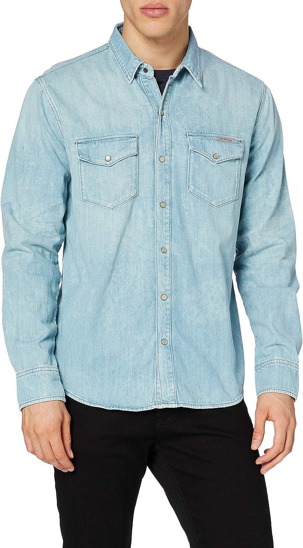 Calvin Klein Classic Shirt Camisa para Hombre: Amazon.es: Ropa