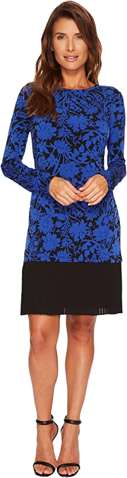 Gardenia Dress with Pleat Hem