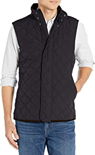Buttoned Down mens Water Repellant Quilted Vest
