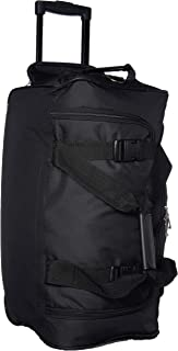 Luggage Rolling 22 Inch Duffle Bag, Black, One Size