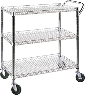 Seville Classics Industrial All-Purpose Utility Cart, NSF Listed (Renewed)