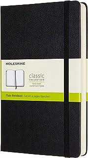 Moleskine - Classic Hard Cover Notebook Expanded - Plain - Large - Black