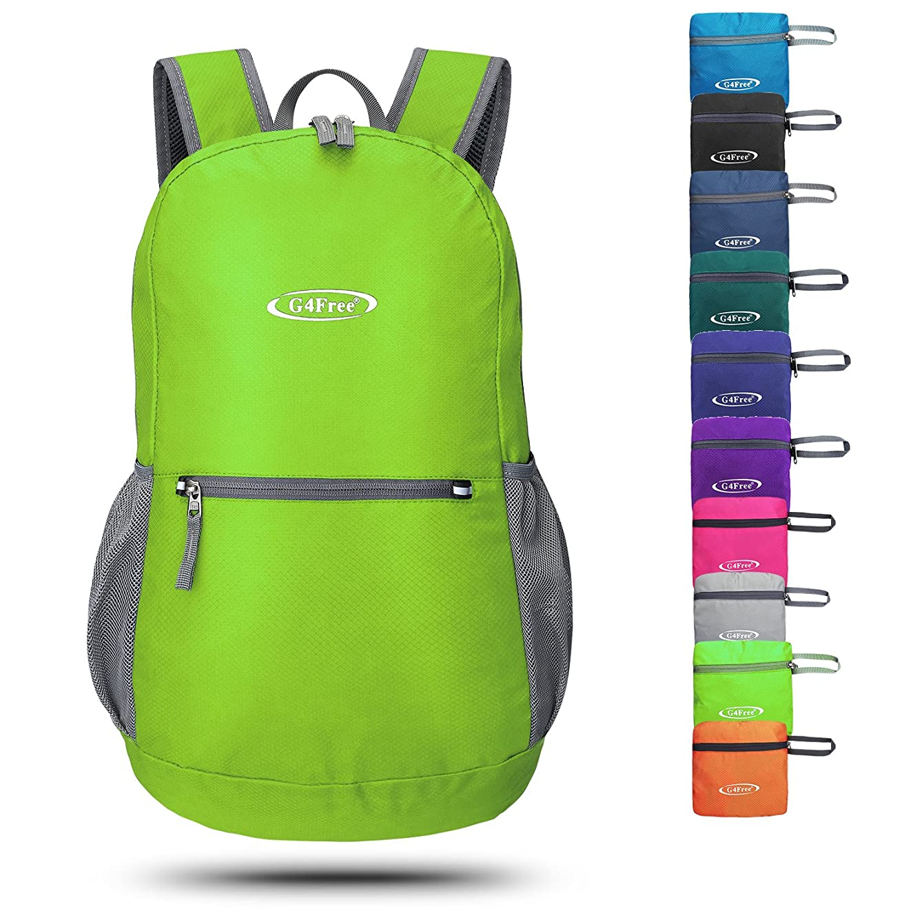 G4Free 20L Hiking Backpack Packable Lightweight Small Bag Water Resistant Foldable Compact Camping Daypack for Men Women
