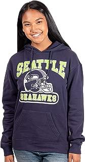 Ultra Game NFL Women's Soft Pullover Hoodie Sweatshirt