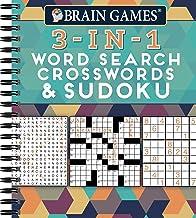 Download Brain Games - 3-In-1: Word Search, Crosswords & Sudoku PDF