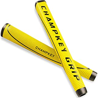 Champkey MTD Midsize Golf Putter Grip - Tacky Polyurethane Material,Moderate Feedback,More Comfortable