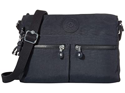 Kipling New Angie Crossbody Bag (Blue/Blue) Handbags