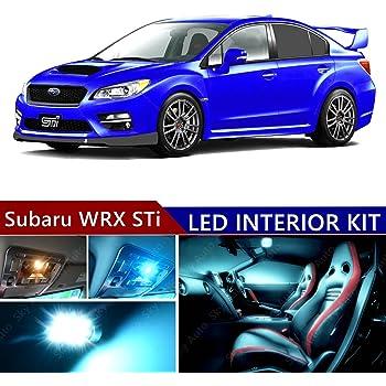 For 2015-Up Subaru WRX//STI White LED Xenon Light Interior Kit Full Package