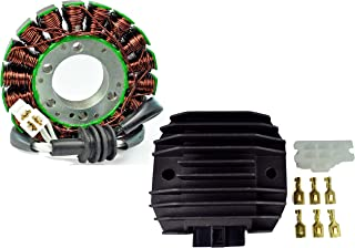 Trkimal Voltage Regulator Rectifier for Yamaha R1 98-01// R6 99-05// R6S// YZF600// FZ6// FZ6N// FZ6S// FZ6R// FZR600// V-STAR XVS400// XP500 T-MAX 500// TDM 800 850// XJ600// MAX 600 700// SX 600 700// VMAX 600 700