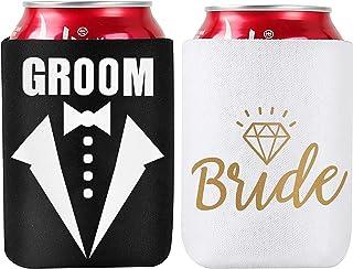 State or Province Bridal Wedding Favors Custom Beverage Insulators Beer Huggers Wedding Can Cooler #1