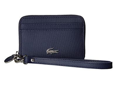 Lacoste Daily Classic Extra Small Wristlet Zip (Marble/Cliff/Cliff) Handbags