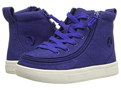 BILLY Footwear Kids Classic Lace High (Toddler) (Blue Jersey Linen) Kid