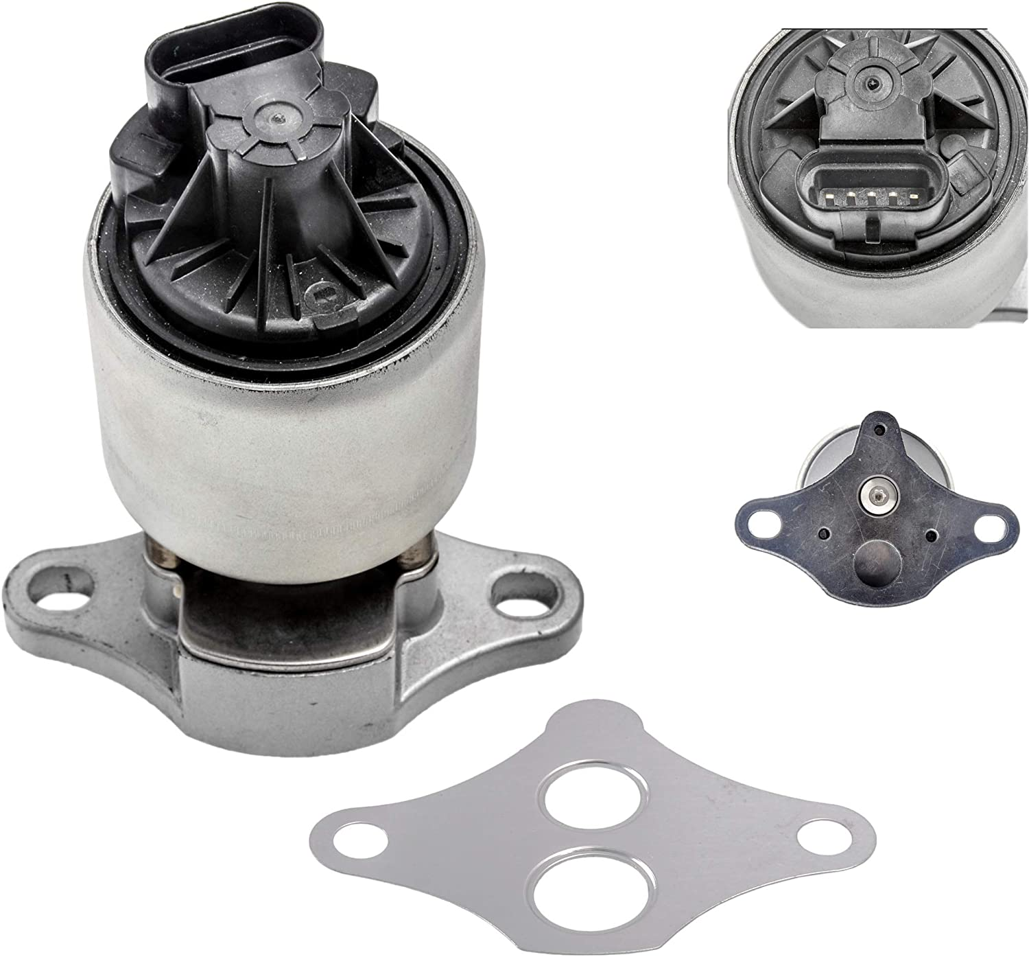 GAM Brand EGR Valve with Genuine Compatible Gasket Chevro With 1996-1999 Very popular