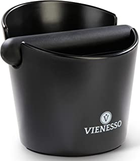 Vienesso Högkvalitativ telåda med avtagbar knock bar – espresso tebehållare för kaffeplatser från Portafilter-hållaren, kn...