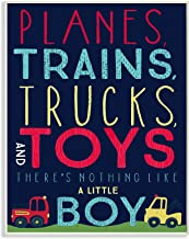 The Kids Room by Stupell The Planes, Trains, Trucks and Toys Wall Plaque Art